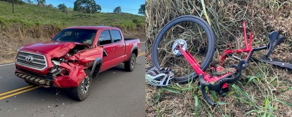 Bicyclist Dies in Head-On Collision in Kula; Motorist Arrested for Negligent Homicide
